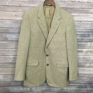 Halston Pure Lamb's Wool Men's Blazer